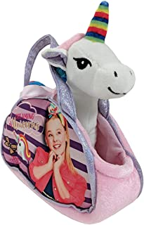 Nickelodeon JoJo Siwa Dreaming of Unicorns Plush w/ Bag