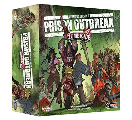 Cool Mini or Not 2286 Zombicide Season 2 - Prison Outbreak, Dungeon Crawler, Deutsch