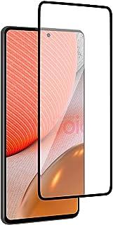 Al-HuTrusHi Tempered Glass Designed For Samsung Galaxy A72 5G Screen Protector, Anti-Scratch Edge to Edge Black Rim Coverage
