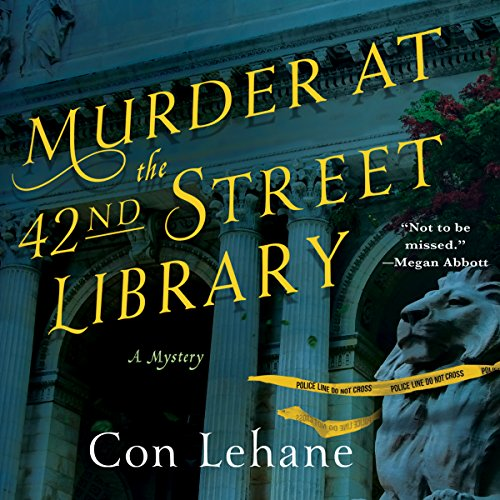 Murder at the 42nd Street Library audiobook cover art
