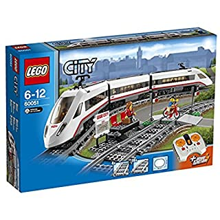 LEGO City 60051 - Hochgeschwindigkeitszug, Zug Spielzeug (B00HFPM3IK) | Amazon price tracker / tracking, Amazon price history charts, Amazon price watches, Amazon price drop alerts