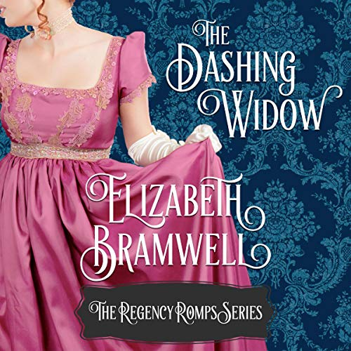 The Dashing Widow audiobook cover art