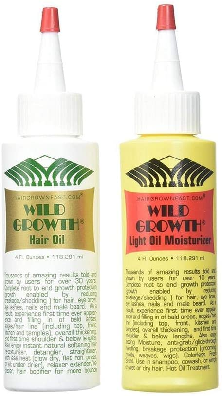 Low price Wild Growth Hair Care System 4 of Pack Fl 2 Oz Max 55% OFF