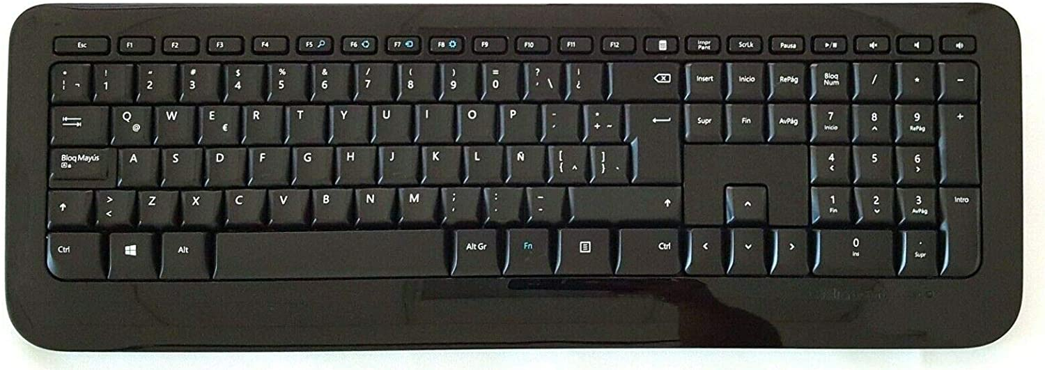 Microsoft Wireless Keyboard 850 Special Edition with AES (PZ3-00004) Spanish