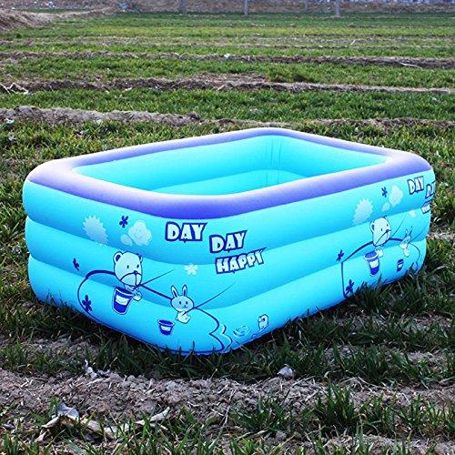 congrouy piscine gonflable, bébé, Home, bébé, enfants, adultes, Super grande famille, grande enfants, mer, eau, couleur aléatoire 1,3 mètre, 3 niveaux Deluxe Set repas