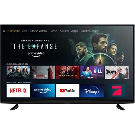 Grundig Vision 8 - Fire TV (55 VAE 80) 139 cm (55 Zoll) Fernseher (Premium Ultra HD, Alexa-Sprachsteuerung, HDR) [Modelljahr 2020]