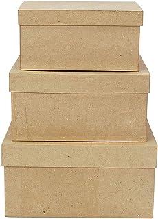 Darice 2849-06 garden, 3 Box Set, cardboard box