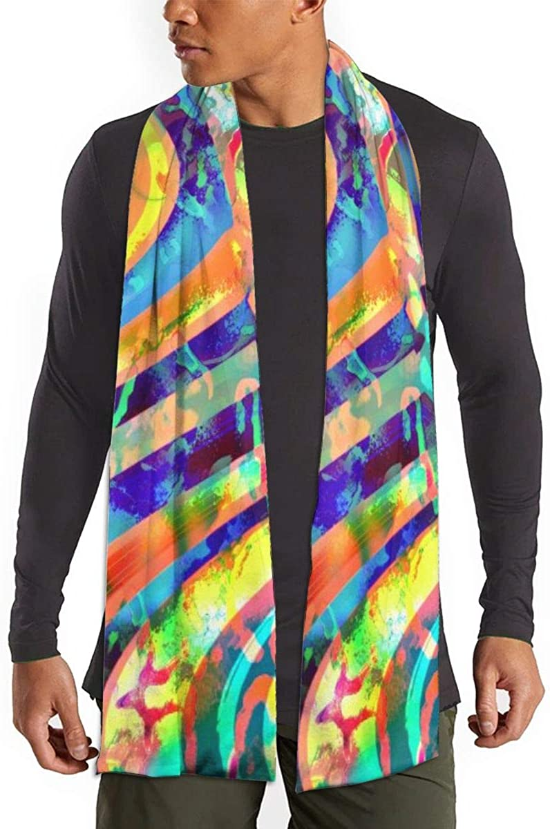 Space Psychedelic Scarfs – Imported Lightweight Neckwear Blanket Wrap Winter Shawl