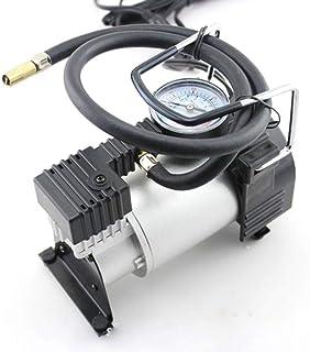 منفاخ اطارات السيارة التلقائي والمحمول من المعدن، بتيار كهربائي مستمر 12 فولت - 13.5 فولت