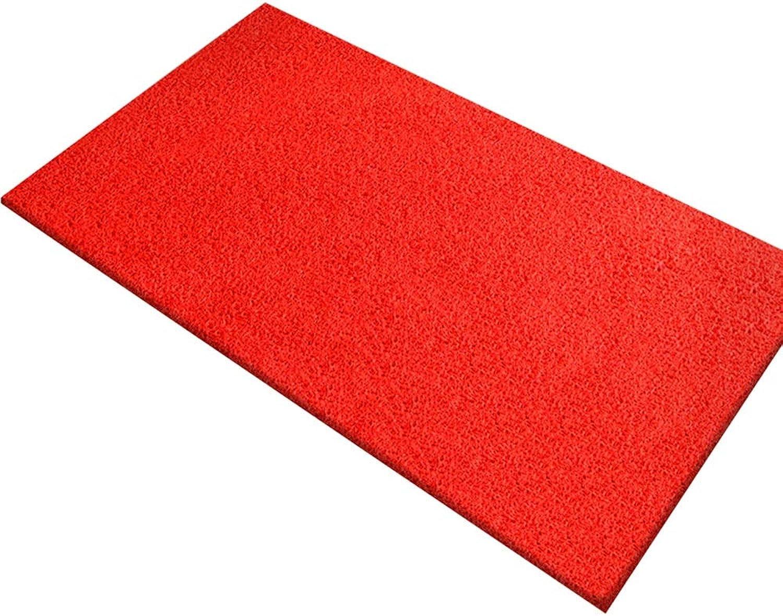 Door Mat, Entry Door Mat Can Be Cut Plastic PVC Floor Mat Foyer Mats Durable and Durable (color   I, Size   120  200)