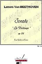 Ludwig van beethoven: sonata no.5, op.24 in f major 'printemps' (violin & piano)