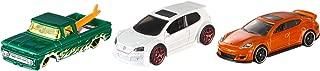 Hot Wheels Pack de 3 vehículos, coches de juguete (modelos