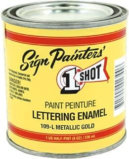 Sign Painters 1 Shot Paint Metallic Gold 109L