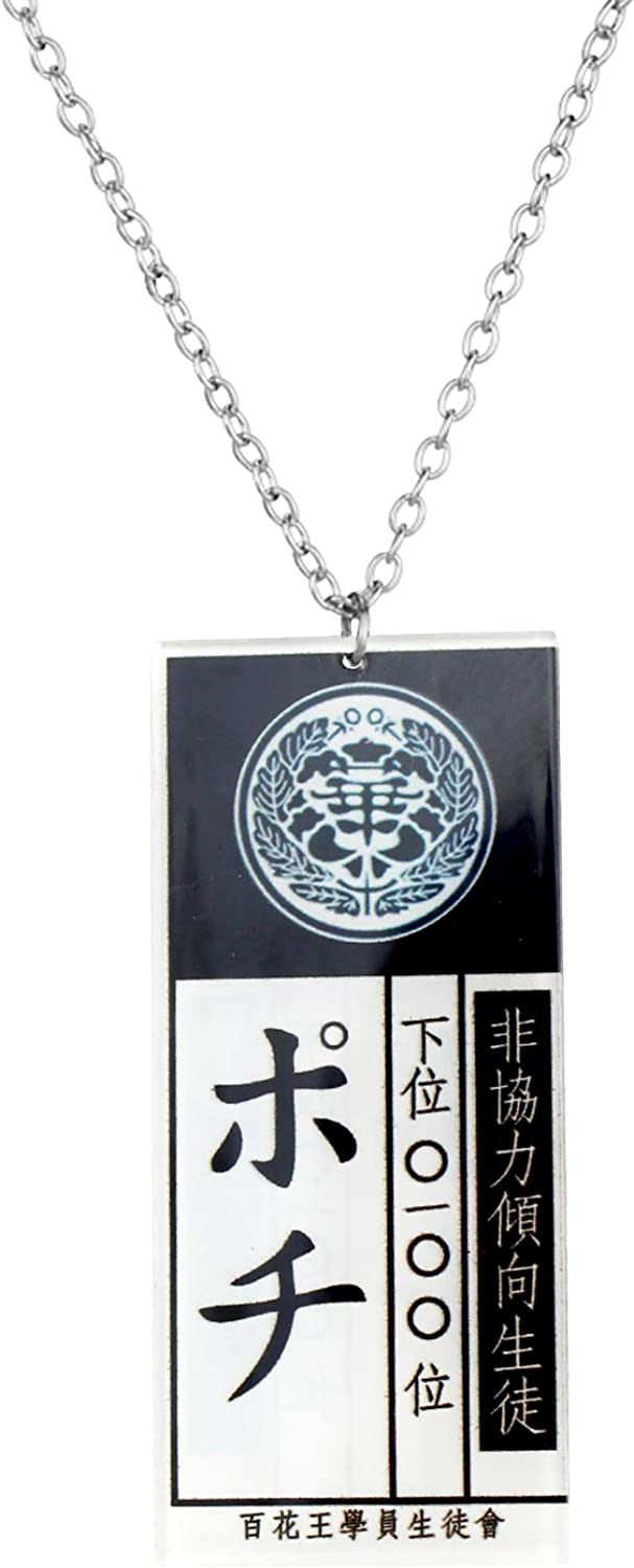 KANGSHUN Outstanding Anime Character Cosplay Necklace Rapid rise Yume Slave for ID with