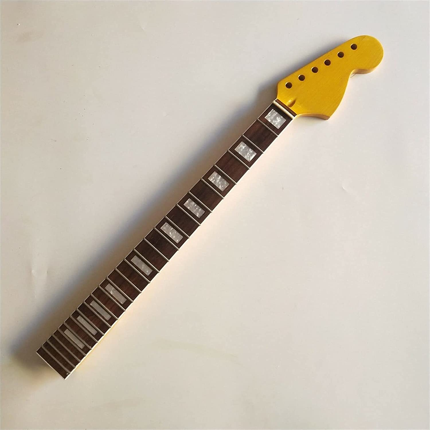 Big Free shipping anywhere in the nation Very popular Head Maple Guitar Neck 24 Rosewood Replacemen Fret Fretboard