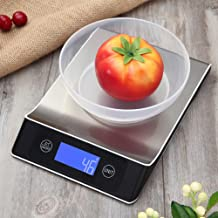 High Precision Baking Electronic Scale Household Food Scales Mini Kitchen Scale High Accuracy Sensor Weigh Food 5kg Including Batteries 243 * 168 * 33 mm