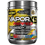 Pre Workout + Weight Loss Formula | MuscleTech Vapor X5 Ripped Pre-Workout | Preworkout Powder for...