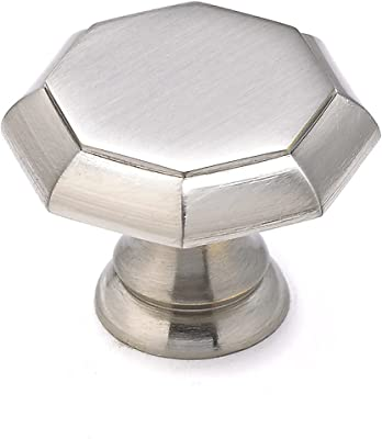 Large Oil-Rubbed Bronze Vicenza Designs K1034 Archimedes Octagon Knob