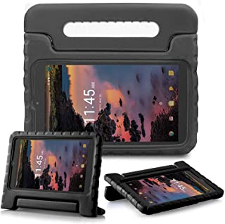 """SIMPLEWAY T-Mobile Alcatel 3T 8inch / A30 Tablet 8"""" Case, Lightweight Kid-Proof Handle Stand Cover Fit Alcatel 3T 8 Tablet..."""