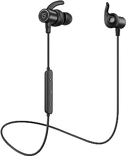 【aptX HD & AAC 対応】SOUNDPEATS Q30 HD Bluetooth イヤホン 14時間連続再生 高音質 ワイヤレスイヤホン IPX7 防水 スポーツイヤホン QCC3034チップセット採用 CVC8.0ノイズキャンセリング搭載 ブルートゥース イヤホン サウンドピーツ Bluetooth ヘッドホン [メーカー1年保証] ブラック