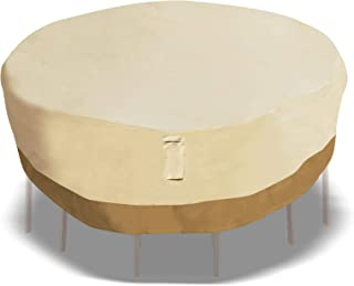 BenefitUSA Set Cover Furniture Protect Premium Patio Round Table/Chair Large