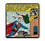 Logoshirt - DC Comics Dessous de Verre - Superman sous-Verre - Save Lois' Life -...