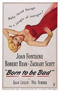 Posterazzi Born to Be Bad Us Art Joan Fontaine 1950 Movie Masterprint Poster Print, (11 x 17)