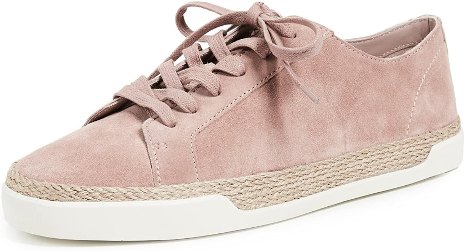 Vince Womens Jadon Suede Low Top Casual shoes