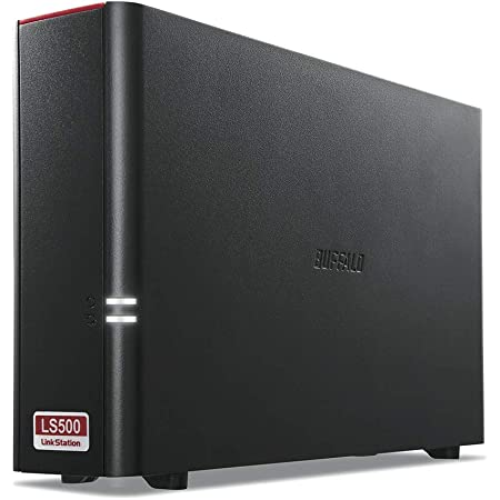 BUFFALO NAS スマホ/タブレット/PC対応 ネットワークHDD 4TB LS510D0401G 【同時アクセスでも快適な高速モデル】