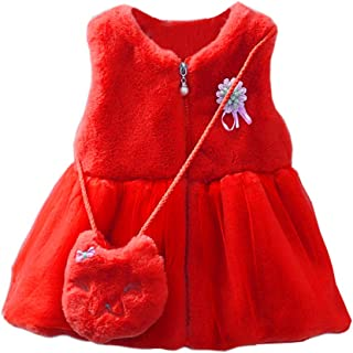 Favorland Baby and Little Girl's Toddler Clothes Kids Outerwear Coat Jacket