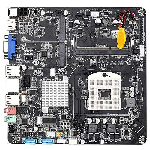 Kamenda HM55B PGA988 - Placa base para ordenador de sobremesa, DDR3, SATA II, ITX, para host/HTPC/máquina de publicidad/radio
