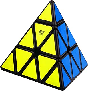 CuberSpeed Qiming Pyraminx Black Mofangge Qiming Pyraminx Black Speed Cube