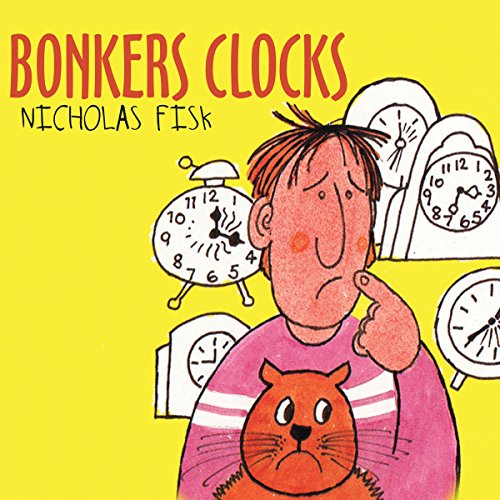 Bonkers Clocks audiobook cover art