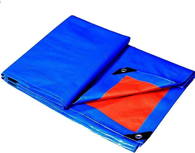 YAGEER zhangpeng épaissie Tissu imperméable à l'eau de Pluie bache Tissu tissé bache en Plastique de Tissu de poussière bache, 11 Sortes de Taille