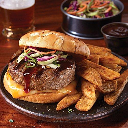 Beef Brisket Burgers, 24 count, 5 oz each from Kansas City Steaks