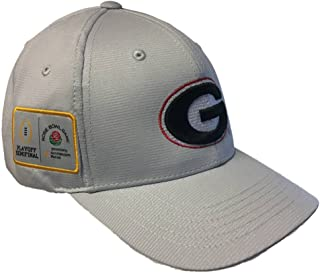 Georgia Bulldogs 2017-2018 Playoff Semifinal Rose Bowl Game Gray Adj. Hat Cap
