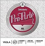 D'Addario J58-SM Pro-Arte - Muta di corde per viola a cassa corta, tensione: Medium...