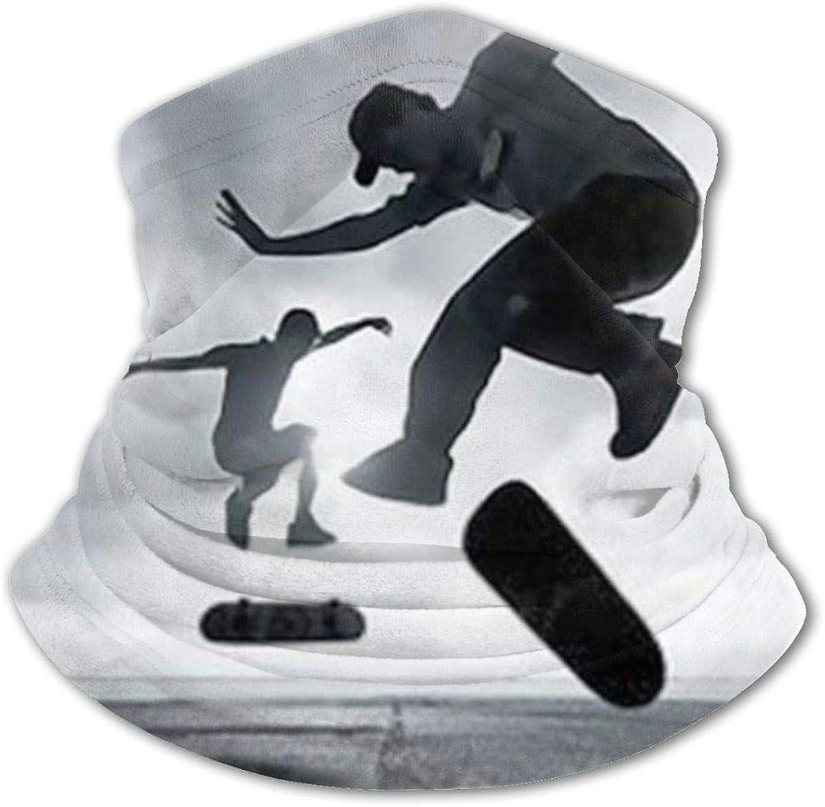Skateboard Headwear For Girls And Boys, Head Wrap, Neck Gaiter, Headband, Tenn Fishing Mask, Magic Scarf, Tube Mask, Face Bandana Mask For Camping Running Cycling