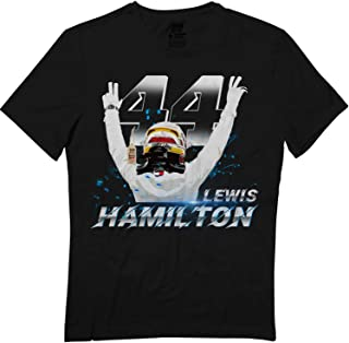 Hamilton-44 Lewis Bristish Car Racing Racer Driver Big Fans T-Shirt
