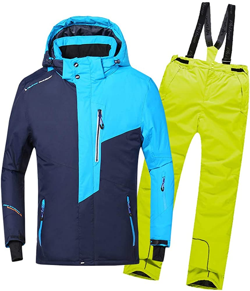 LSERVER Omaha Mall Boys' Ski Suit Two-Piece 67% OFF of fixed price + Set Thicken