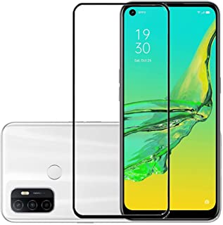 Oppo A53 (2020) / Oppo A33 (2020) / Oppo A32 (2020) Screen Protector Glass Full Glue Tempered Screen Guard Anti-Fingerprin...