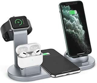 $26 » Sponsored Ad - Wireless Charging (Silver) 10W Max Compatible with SE 2020, 11, 11 Pro, 11 Pro Max, AirPods, Galaxy S20 S10...