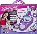 Cool Maker, 2-in-1 KumiKreator, Necklace and Friendship Bracelet Maker Activity Kit, for Ages 8 and...