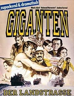 The Imprint of Giants Movie Poster (27 x 40 Inches - 69cm x 102cm) (1980) German -(Yaman Okay)(Erkan Yücel)(Nur Sürer)(Tuncel Kurtiz)