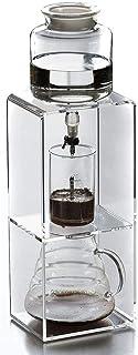 Ice Coffee Pot Machine, Acrylic Ice Drop Stand Ice Drip Pot Brewed Coffee Pot Ice Coffee Maker 6 Cups
