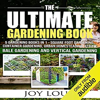 Ultimate Gardening Book: 5 Gardening Books in 1 audiobook cover art