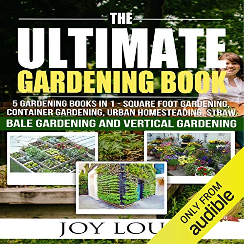 Couverture de Ultimate Gardening Book: 5 Gardening Books in 1