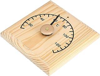 Drewniane Pomieszczenie do Sauny Drewniany Termometr Higrometr Czarny Wskaźnik Wskaźnik Temperatury do Sauny Naścienny Nad...