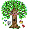 CARSON DELLOSA CD-3257 BB SET BIG TREE:KID描画-48 X 54