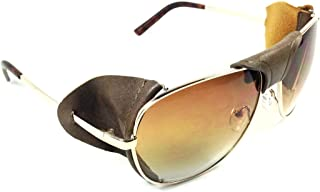 Best aviator sunglasses with leather side shields Reviews